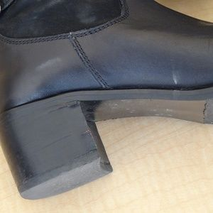 Davos Gomma Long Black Boots S40